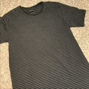 PacSun linger fit striped tee size medium GUC